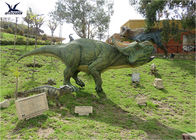 Durable Simulated Animatronic Giant Dinosaur Model Mother And Dinosaur Baby