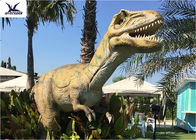 Anti Rust T Rex Christmas Lawn Ornament , Customizable Full Size Velociraptor Model