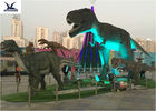 Animatronic Lifesize Mechanical Outdoor Dinosaur พร้อมไฟ 110/220 โวลต์