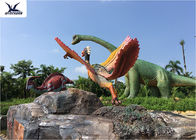 Outdoor Amusement Park Decoration Fiberglass Giant Wild Animal Bird Statues
