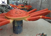 Playground Indoor High Simulation Giant Animatronic Animals Realistic Crab Model