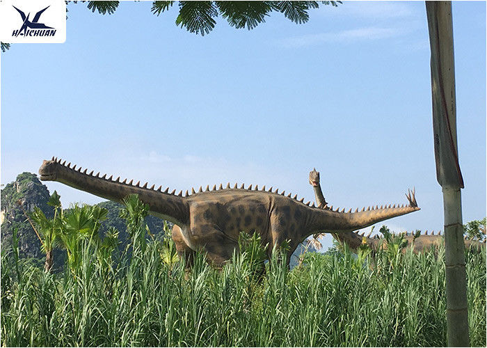 Professional Display Outdoor Dinosaur / Remote Control Dinosaur Yard Decorations